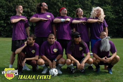 Vr-cup 2006 - équipe Tralala Events